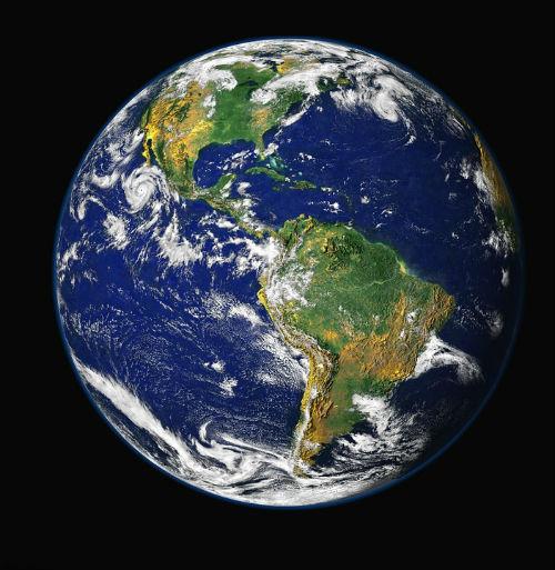 Algunas personas creen que la tierra es plana