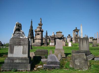 Cementerio en Glasgow