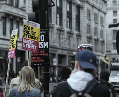 Manifestacion antiracismo