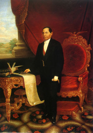 Muerte del Presidente Benito Juarez