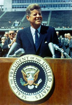 Presidente numero 35 de los Estados Unidos de America