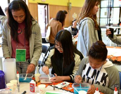 Estudiantes de Corea del Sur