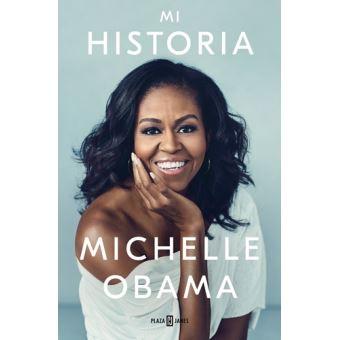 Portada de la autobiografia Michelle Obama