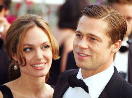 relacion angelina jolie y Brad Pitt