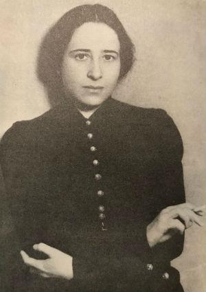 La joven Hannah Arendt