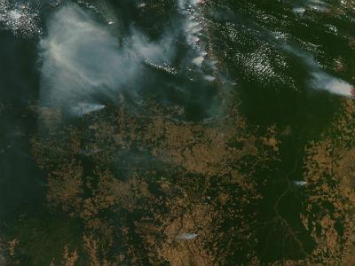 Imagen de satelite de la Nasa