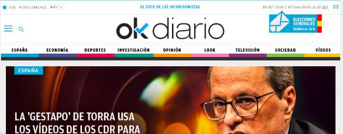 Historia de Ok diario