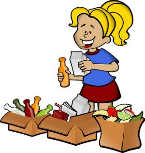 Separar los residuos de basura