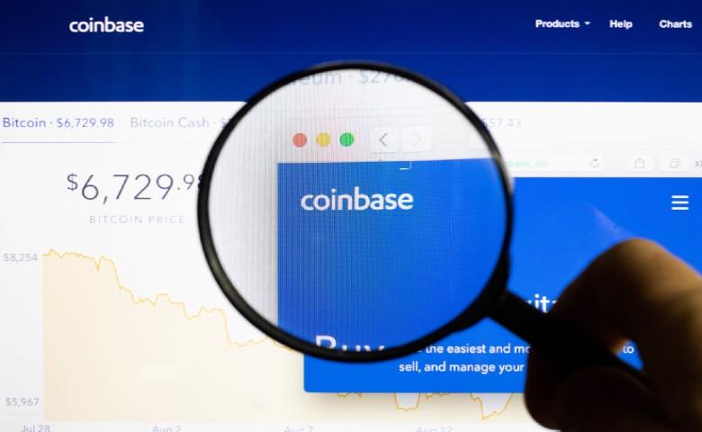 Coinbase cotización en Nasdaq